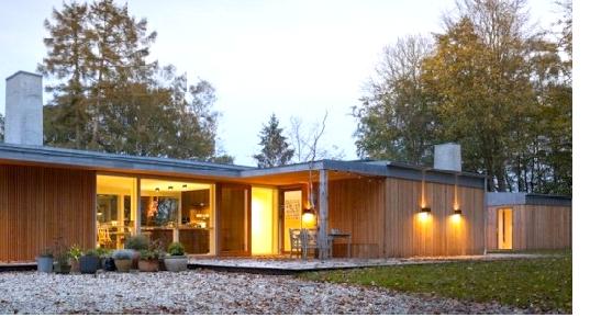 дом отапливаемый геотермальной энергией