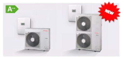 Новые модели воздушных тепловых насосов  Dimplex