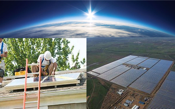 experience of solar solutions