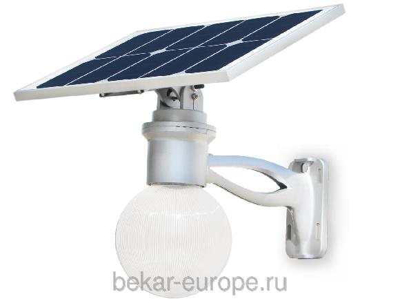 Уличное освещение 8 Вт на солнечных модулях