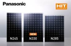 солнечные модули N330 Panasonic