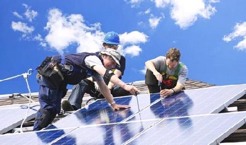 Установить солнечные батареи в частных домах бесплатно
