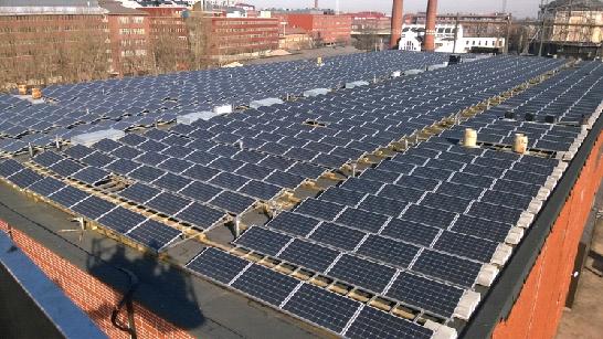 Производство солнечной энергии для зданий Хельсинки