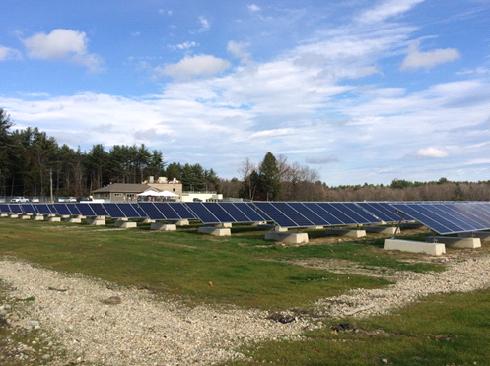 Небольшой городок Нью-Хэмпшира полностью перешел на солнечные батареи