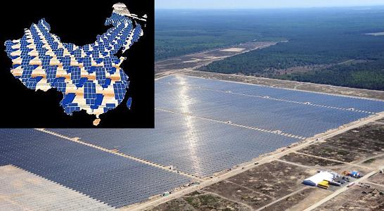 китай использование возобновляемых источников
