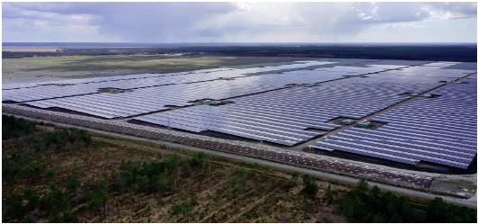 Крупнейшая солнечная электростанция  в Европе