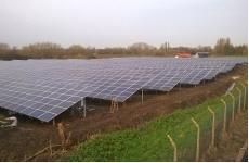 солнечная электростанция  крупнейшая в Великобритании