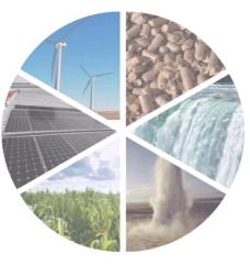 Рост в использование возобновляемых источников энергии