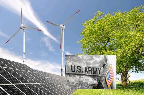 Армия США покупает  ветровую и солнечную  энергию