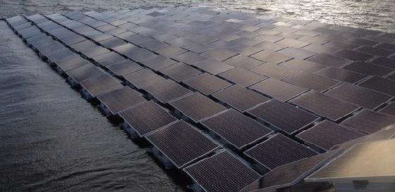 солнечная станция из более чем 23000 солнечных панелей