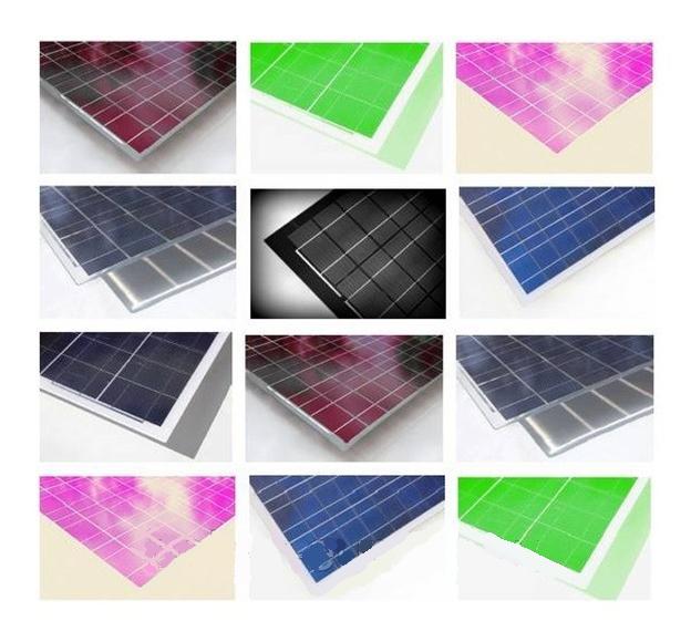 Солнечные батареи  любого цвета