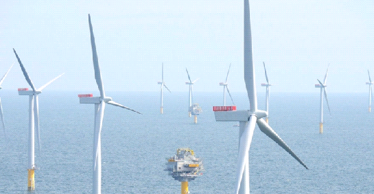 США построят морские ветротурбины мощностью 86 ГВт к 2050 году