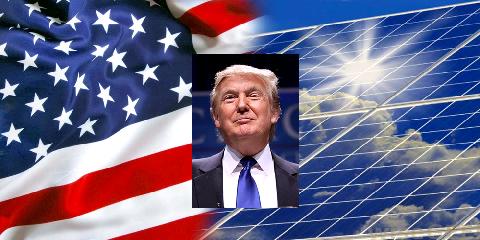 Дональд Трамп для альтернативной энергетики