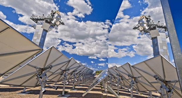 солнечная технология Гелиостат