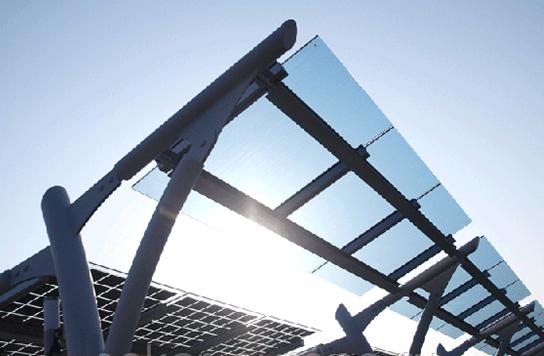 Солнечные модули для автомобильных парковок и заправочных станций