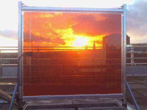 Солнечные прозрачные модули