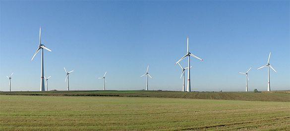 в ближайшее время Россия начнет строить  ветроэлектростанции