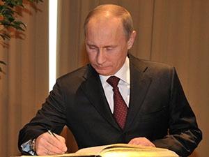 Путин поручил кабмину уделять особое внимание ВИЭ