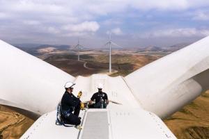 самая большая ветряная станция