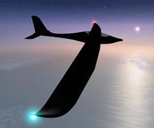 Первый солнечный самолет