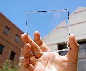 Прозрачные солнечные модули