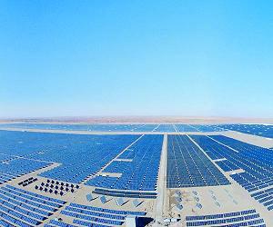 Китай быстро расширяет свою сферу солнечной энергетики