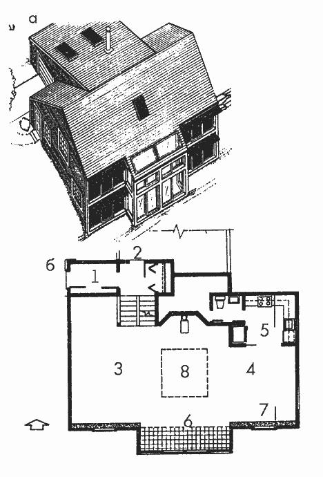 Компактный жилой дом для холодного климата Массачусетс