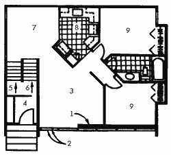 План жилого дома фирмы Concept Construction