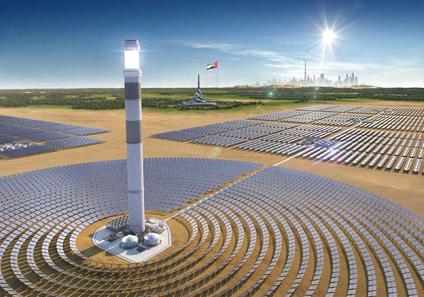 В Дубай в солнечном парке