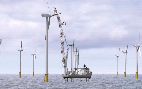Китай построит ветряную ферму за 3 млрд