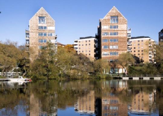 В Швеции строят экодома