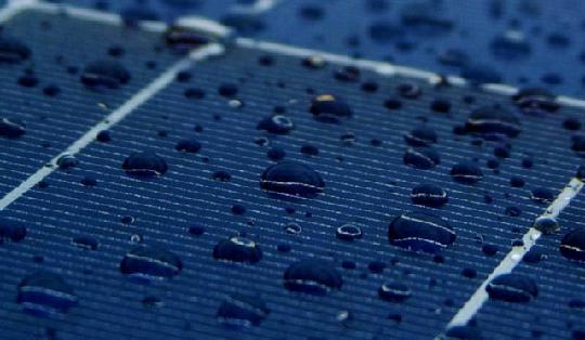 солнечные батареи способны работать на энергии и солнца и дождя