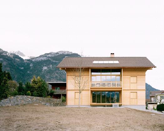 экодом архитектурного бюро SeilerLinhart