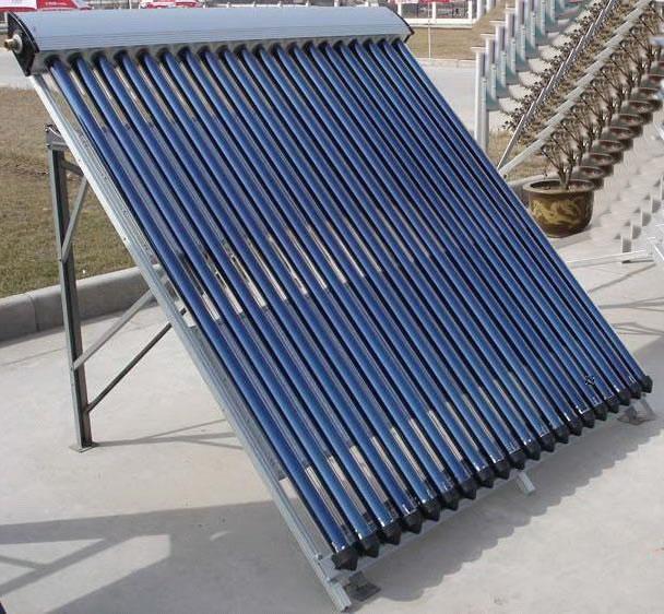 солнечный коллектор  с вакуумными трубками типа Heat Pipe