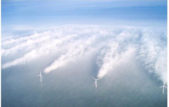 Огромные ветровые энергетические установки