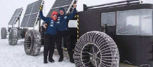 исследовать Антарктиду на уникальном солнечном электромобиле