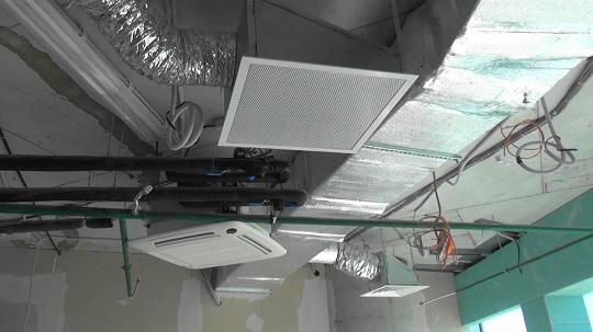 Пусконаладка систем вентиляции