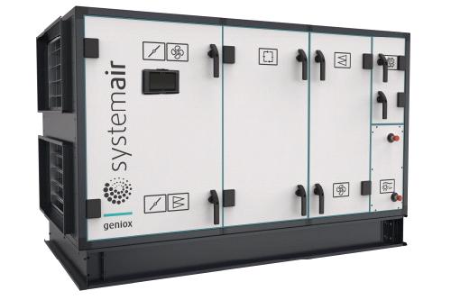 Geniox – последнее поколение воздухообрабатывающих агрегатов