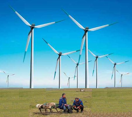 заполярная ветряная  электростанция